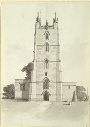 Wraxall Church tower
